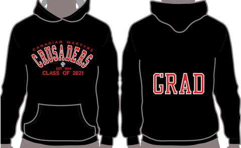 Canadian Martyrs Catholic Elementary School Grad Hoodies 2021