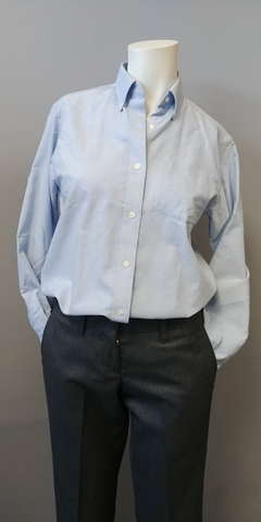 Transit Ladies Long Sleeve Oxford