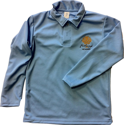 Pathways Unisex Dry Fit Long Sleeve Polo Shirt