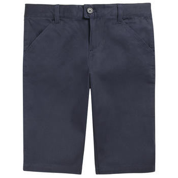 Navy Girls Walking Shorts
