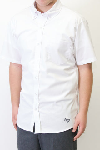 Saint Paul Mens Short Sleeve Oxford