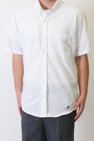Saint Francis Mens Short Sleeve Oxford