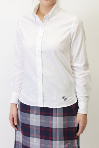 Saint Paul Ladies Long Sleeve Oxford