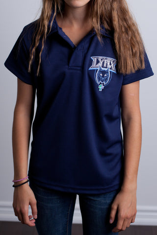 Loretto Spirit Wear Youth Short Sleeve Dry Fit Polo