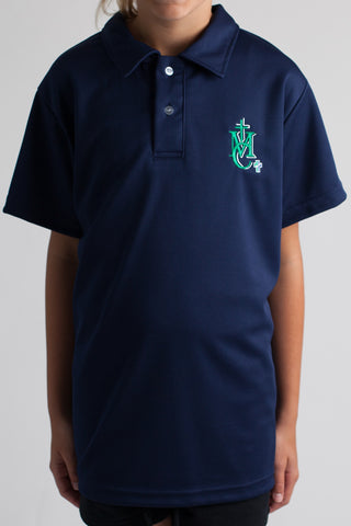 Monsignor Clancy Spirit Wear Youth Short Sleeve Dry Fit Polo