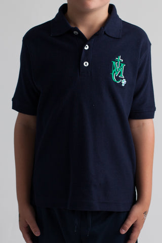 Monsignor Clancy Spirit Wear Adult Short Sleeve Polo