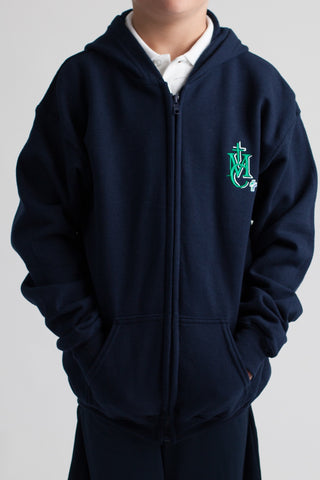 Monsignor Clancy Spirit Wear Adult Zipper Hoodie