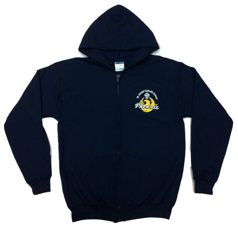 St. Joseph Spirit Wear Youth Zipper Hoodie (Grimsby)