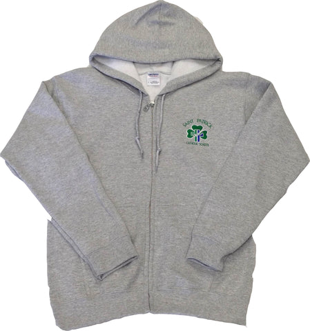 St. Patrick Spirit Wear Youth Zipper Hoodie
