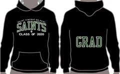 Saint Vincent de Paul Catholic Elementary School Grad Hoodie 2021