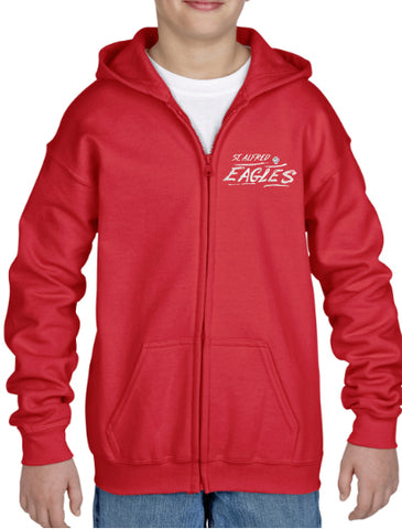 St. Alfred Spirit Wear Youth Zipper Hoodie