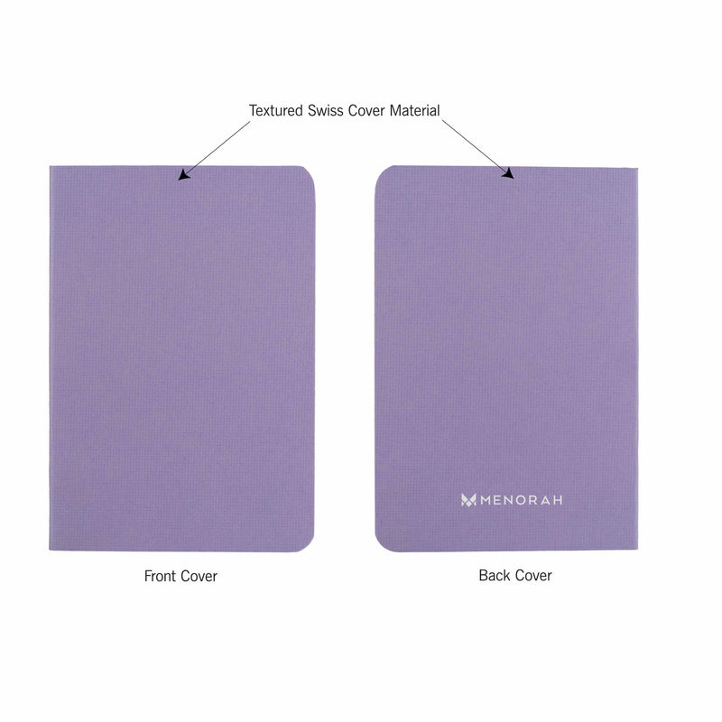 B7- Ruled- Pocket Notebook- Size (125 mm x 85 mm) | Pastel Shade