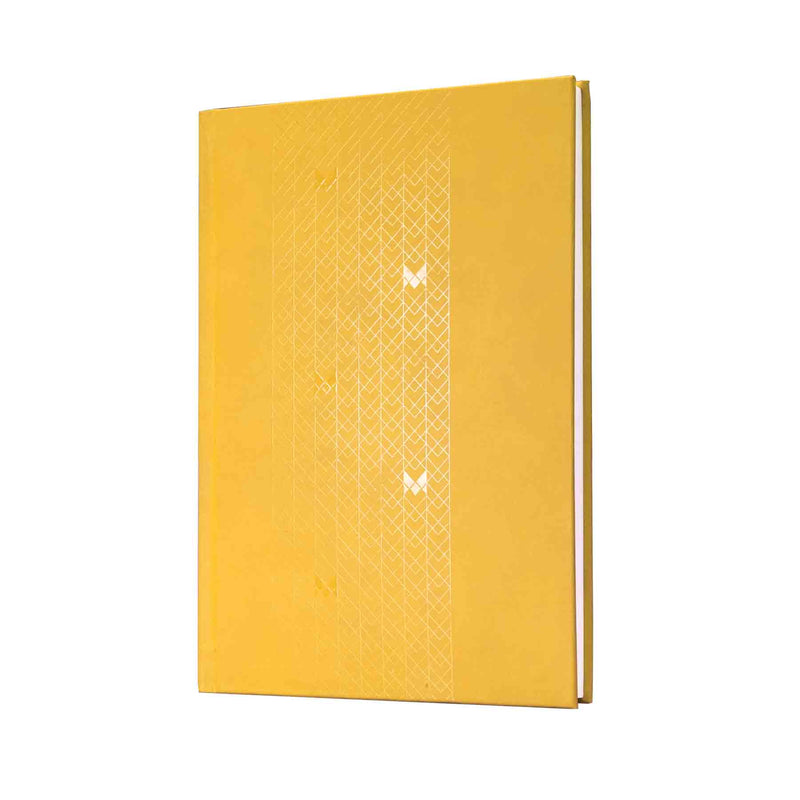 B5 - UNICORN NOTEBOOK / JOURNAL - 100 GSM - RULED - CASEBOUND - (YELLOW)