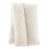 Faux Fur Range Cream Body Wrap