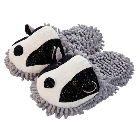 Badger Fuzzy Friends Slippers
