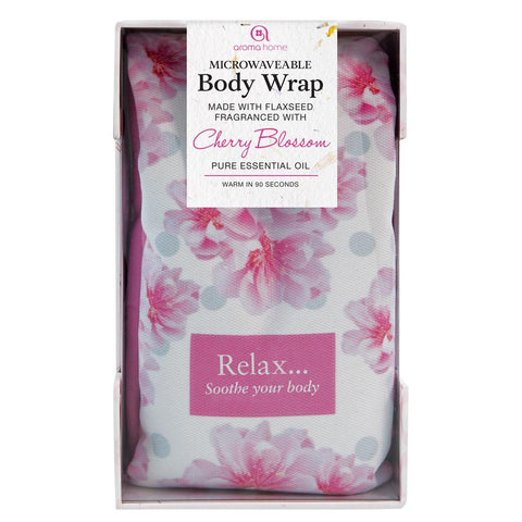 Cherry Blossom Scented Floral Microwave Body Wrap