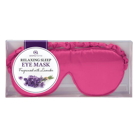 Pink Satin Eye Mask