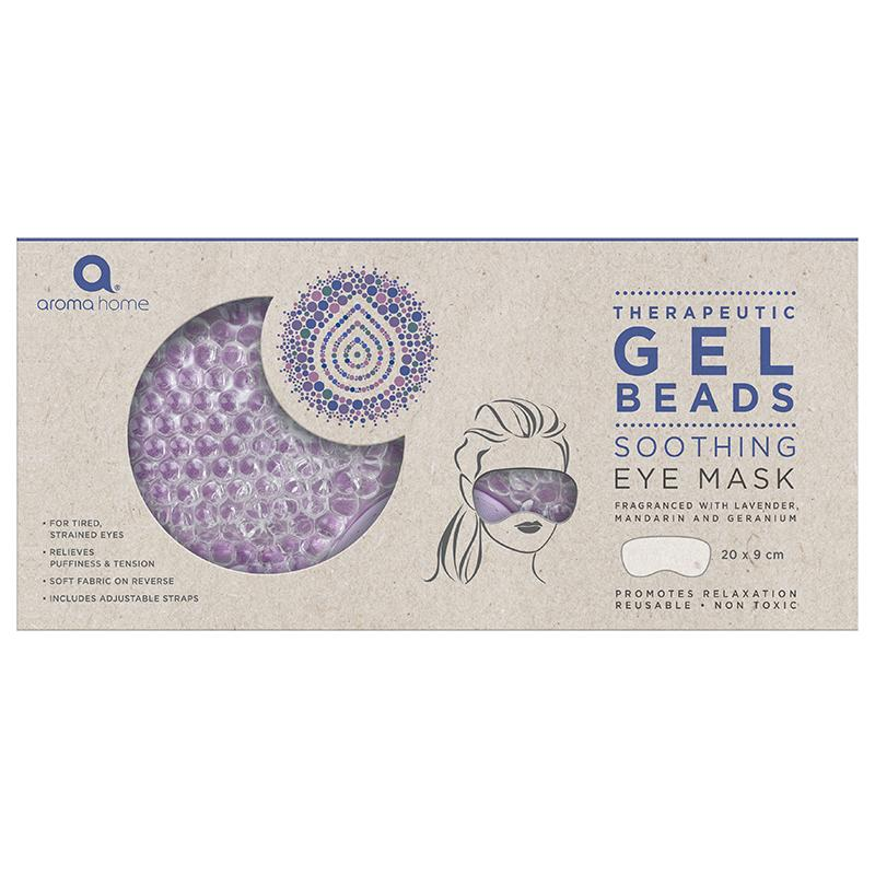 Therapeutic Gel Beads Cooling Lavender Eye Mask