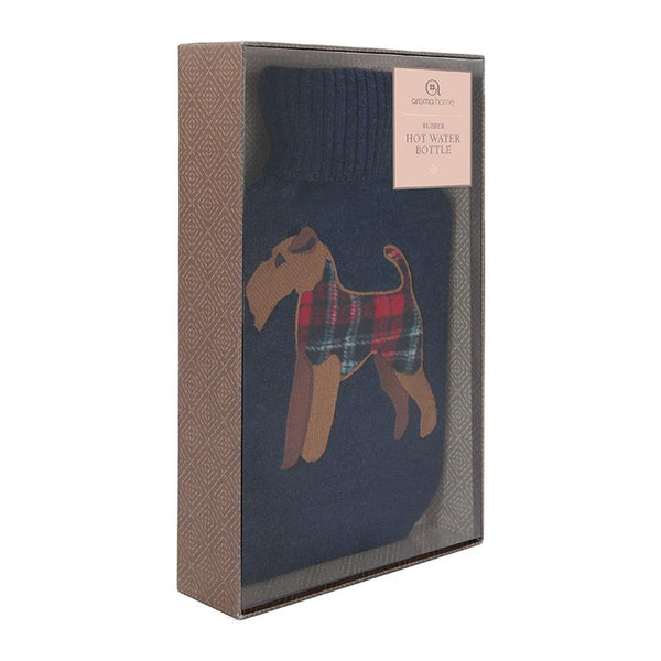Fox Terrier Hot Water Bottle