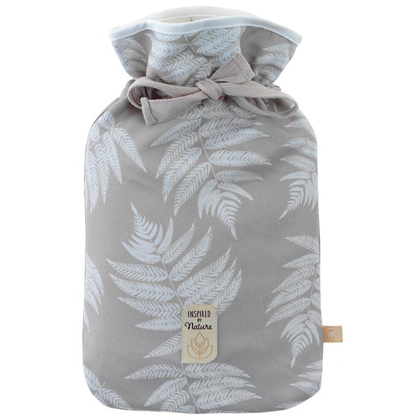Inspired by Nature Stone Fern Hot Water Bottle