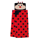 Cosy Up Hooded Blanket - Ladybird