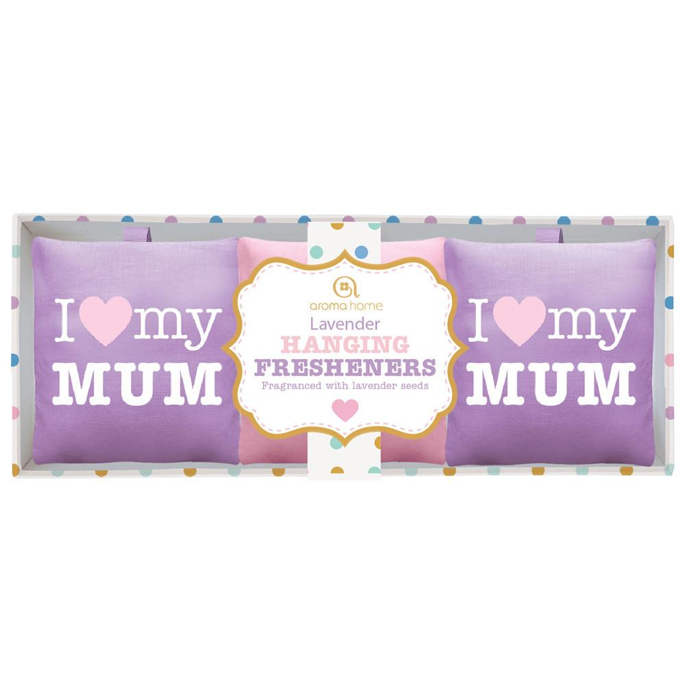 I love my Mum - Drawer Fresheners - Pack of 3