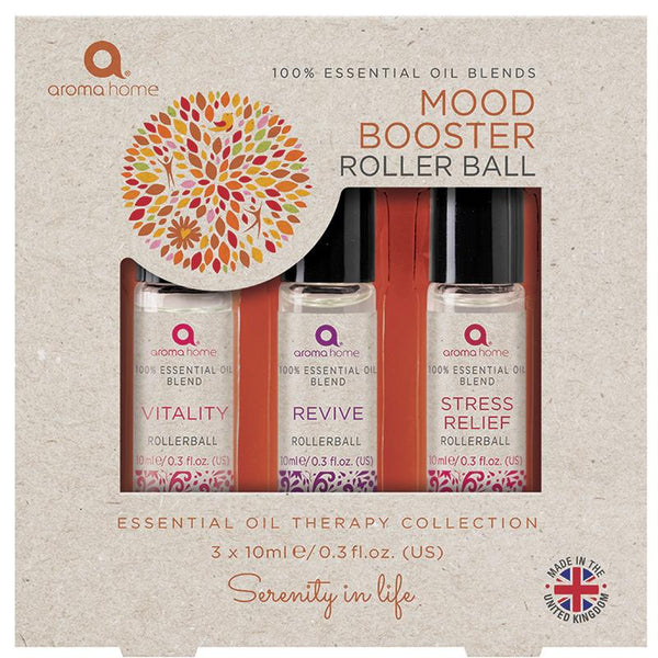 Mood Booster - Essentials Range Rollerball Set