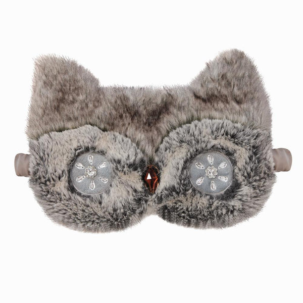 Owl Faux Fur Eye Masks