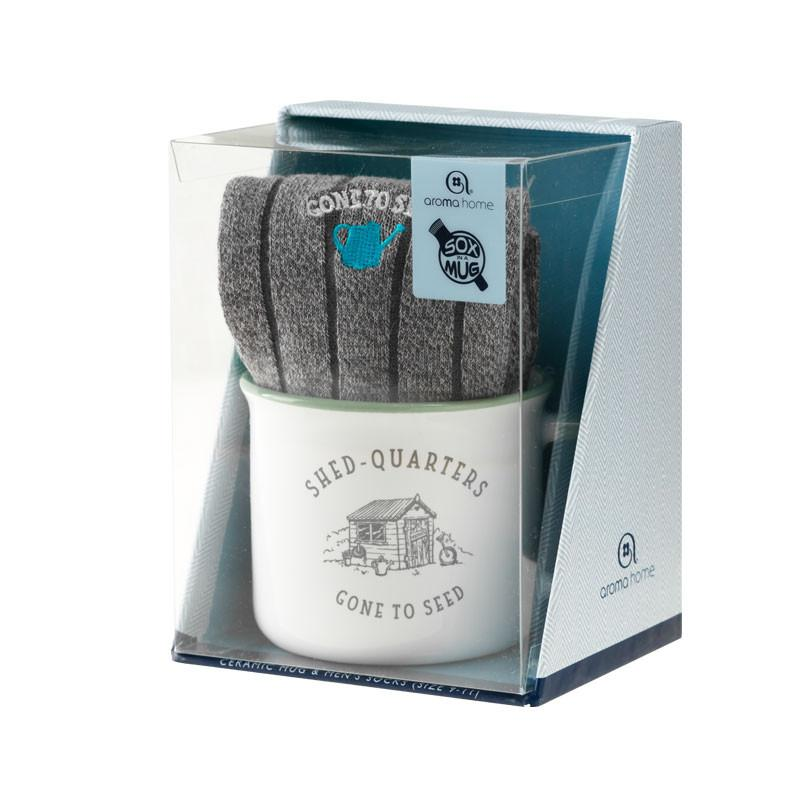 Shed Quarters Mug & Socks Gift Set