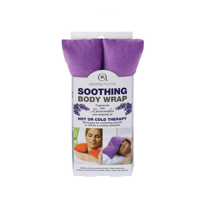 Lavender Microwave Body Wrap in Cardboard Sleeve