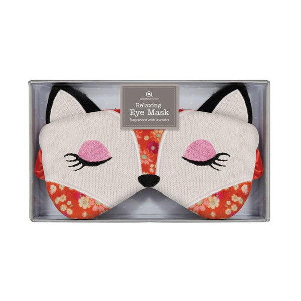 Knitted Fox Range Eye Mask