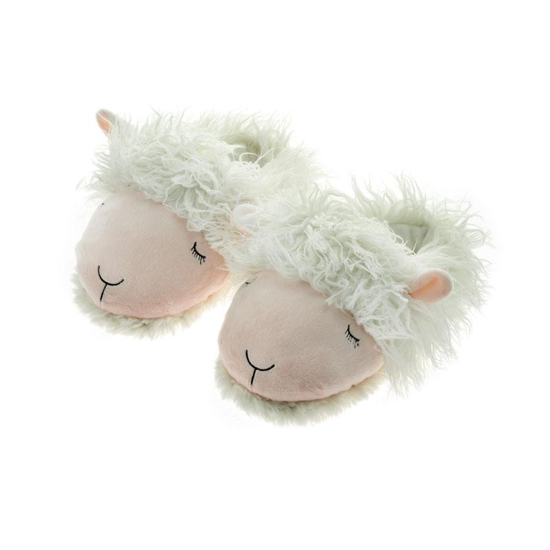 Lamb Fuzzy Friends Slippers