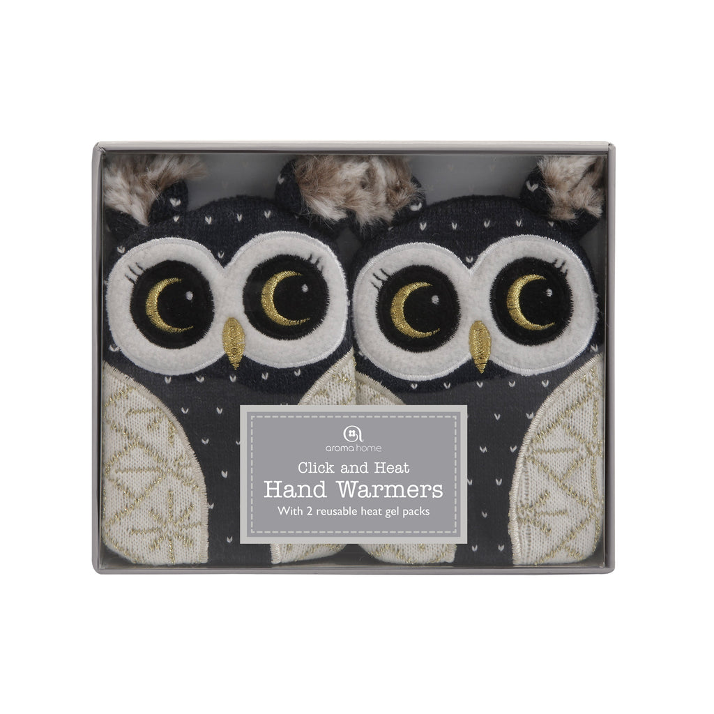 Knitted Owl Range - Hand Warmers