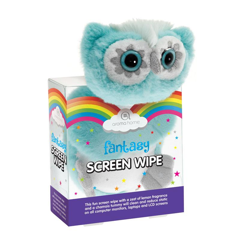 Fantasy Owl Novelty Screen Wipe