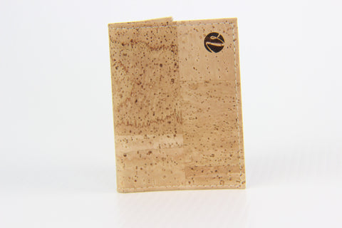 LIGHT CORK CARD HOLDER