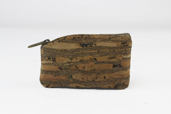 NATURAL CORK COIN PURSE
