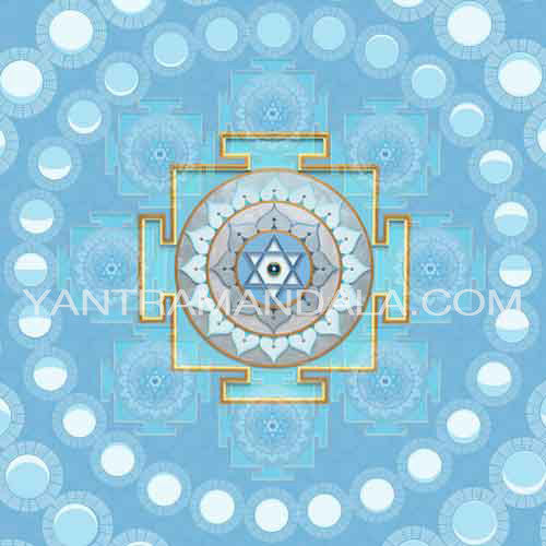 Cosmic Cling  Moon Yantra - Chandra Yantra 2