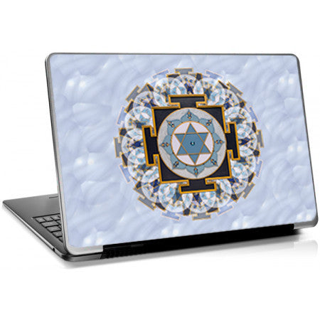 Saturn (Shani) Yantra Laptop Skin