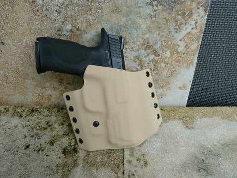 """Enforcer"" Kydex OWB Gun Holster"