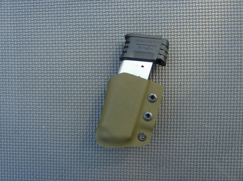 Single IWB Kydex Magazine Carrier