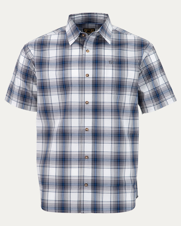 Blue / Grey Plaid