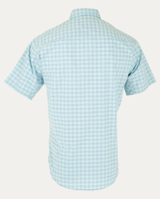 Sky Blue Mini Plaid