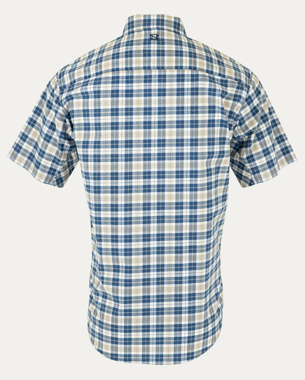 Navy Small Window Plaid