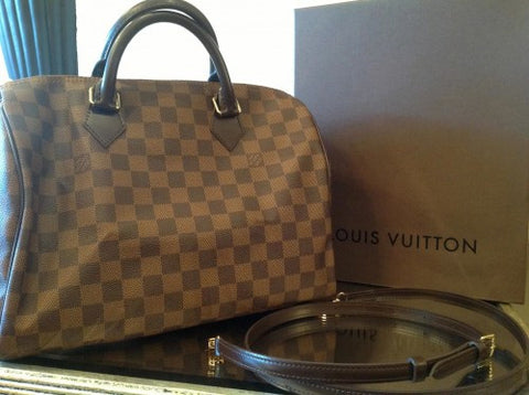 louis vuitton speedy damier bag