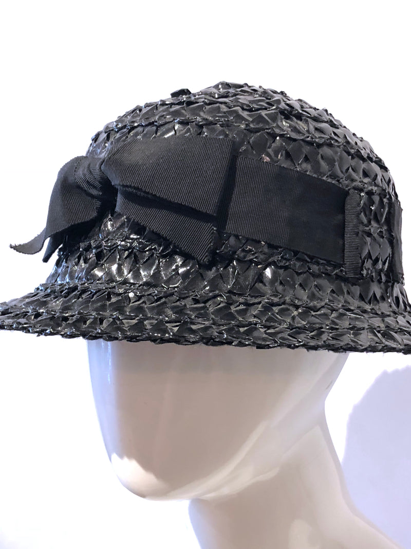 Chanel Woven Straw Hat