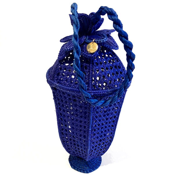 Silvia Tcherassi Birdcage Wicker Bag