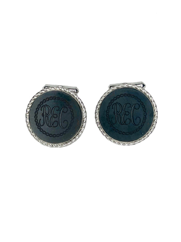 Destino Vintage Sterling Cufflinks
