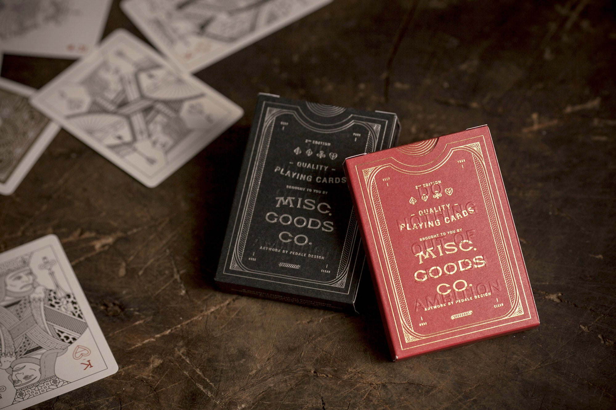Misc. Goods Co. Luxury Playing Cards Proof of Concept Photo by Tyler Deeb