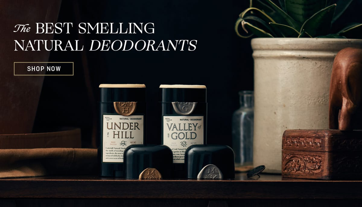 The Best Smelling Natural Deodorants - What if Your Deodorant Smelled Great?