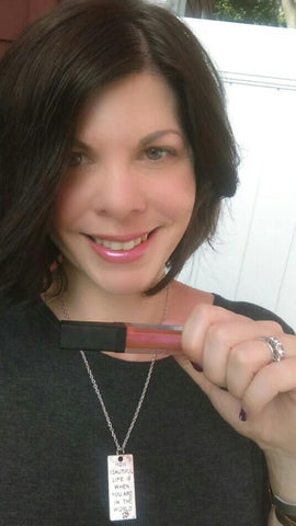 beauty bloggers favorite ylbb lip gloss is seed peach sunrise